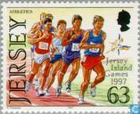 Postage Stamps - Jersey - Island Games