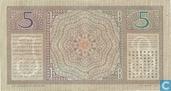 Billets de banque - De Javasche Bank - Florin néerlandais Indes 5
