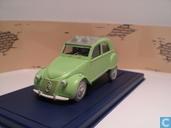 """Voitures miniatures - Atlas - Citroën 2CV uit """"De zaak Zonnebloem"""""""
