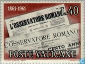 L 'Osservatore Romano 100 years