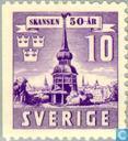 Briefmarken - Schweden [SWE] - 10 violett