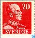 Koning Gustaf V (kleine cijfers)