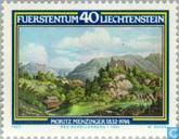 Postzegels - Liechtenstein - Menzinger, Moritz 150 jaar