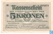 Wien 5 Kronen 1918