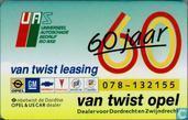 Opel van Twist 60 jaar