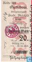 Banknoten  - Bielefeld - Stadt - Mark Bielefeld 20
