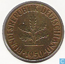 Germany 10 pfennig 1950 (D)