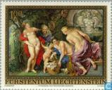 Postage Stamps - Liechtenstein - Rubens 400 years