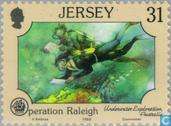 Postage Stamps - Jersey - Operation Raleigh