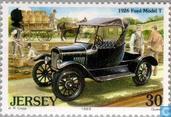 Briefmarken - Jersey - Klassische Autos
