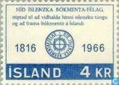 Timbres-poste - Islande - Literature Association 1816-1966