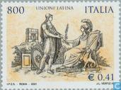 Postage Stamps - Italy [ITA] - Unione Latina