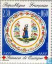 Postage Stamps - France [FRA] - Porcelain