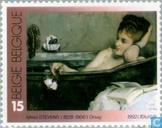 Postzegels - België [BEL] - Belgische kunstwerken in buitenland