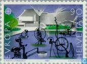 Briefmarken - Schweiz [CHE] - Europa – Moderne Architektur