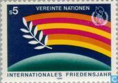 Postzegels - Verenigde Naties - Wenen - Int. Jaar van de Vrede