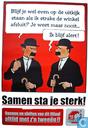 Affiches et posters - Bandes dessinées - Samen sta je sterk ! - Jansen & Janssen