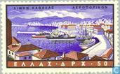 Timbres-poste - Grèce - Ports