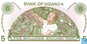 Banknotes - Bank of Uganda - Uganda Shillings 5