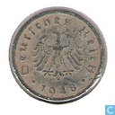 German Empire 10 reichspfennig 1948 (F)