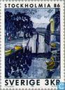 Timbres-poste - Suède [SWE] - STOCKHOLMIA 86 (III)