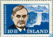 Postzegels - IJsland - Benediktsson, Einar