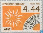 Briefmarken - Frankreich [FRA] - August