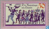 Briefmarken - Deutschland, Bundesrepublik [DEU] - Der Rattenfänger von Hameln