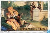 Postage Stamps - San Marino - Giambattista Tiepolo