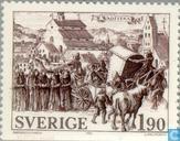 Postage Stamps - Sweden [SWE] - Vadstena anno 1400