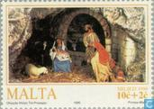 Postage Stamps - Malta - Biblical scenes