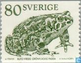 Postage Stamps - Sweden [SWE] - European green toad