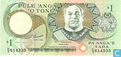 Banknoten  - National Reserve Bank of Tonga - Tonga 1 Pa'anga