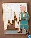 Epingles, pin's et boutons - Tintin - broches Soviétiques