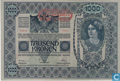 Billets de banque - Autriche - 1919 Issue - Deutschösterreich 1.000 Kronen ND (1919) P61