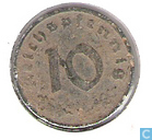 Munten - Duitsland - Duitse Rijk 10 reichspfennig 1948 (F)