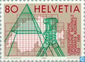 Postage Stamps - Switzerland [CHE] - National topography 150 years