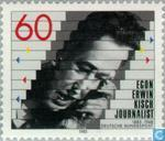 Postage Stamps - Germany, Federal Republic [DEU] - Egon Erwin Kisch 100 years