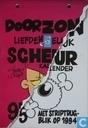 Strips - Familie Doorzon, De - Doorzon Liefdenegeluk scheurkalender 95 - Met striptrugblik op 1994
