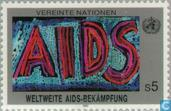 Postage Stamps - United Nations - Vienna - AIDS Control