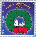 Postzegels - Gibraltar - Peanuts striptekeningen
