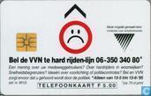 Bel de VVN te hard rijden-lijn