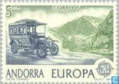 Briefmarken - Andorra - Spanisch - Europa – Postgeschichte