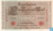 Banknotes - Reichsbanknote - Germany 1000 Mark