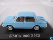Voitures miniatures - Altaya - Simca 1000