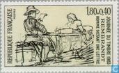 Timbres-poste - France [FRA] - Tableau Rembrandt