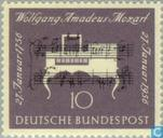 Postage Stamps - Germany, Federal Republic [DEU] - 200th Anniversary of Wolfgang Amadeus Mozart