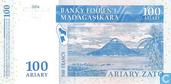 Banknotes - Banky Foiben´i Madagasikara - Madagascar 100 Ariary