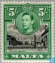Briefmarken - Malta - König Georg VI.
