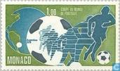 Briefmarken - Monaco - World Cup Soccer